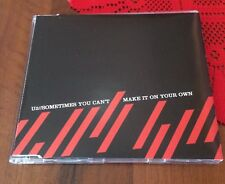 U2  Sometimes You Can't Make It On Your Own slim case PROMO CD single Bono