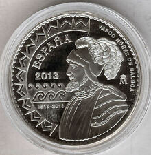 10 Eur 2013 500 Anniv. Discovery del Pacific F.N.M.T. silver Proof