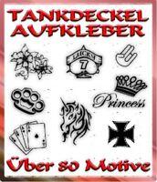 .TANKDECKEL AUTO AUFKLEBER - Ca. 80 MOTIVE ZUR AUSWAHL - AUTO STICKER COOL DEKO