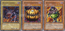 Authentic Bonz Deck - Pumpking - Call - Dragon Zombie - 45 Cards - Yugioh