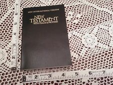 84 NIV purse pocket NEW TESTAMENT Psalms Proverbs 1984 N. International NT Bible