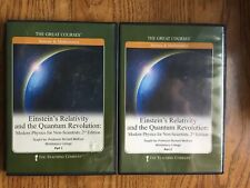 The Great Courses Einstein's Relativity And The Quantum Revolution DVDs Part 1&2