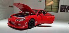 1:24 Scale Red Nissan Sylvia Silvia SX200 S15 Spec R S Welly Diecast Model Car