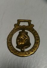 """Vintage Brass Bottle Opener """" The Victorian Record """" 1837-1897"""