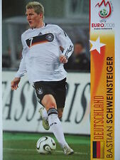 Panini 499 Bastian Schweinsteiger Deutschland UEFA Euro 2008 Austria Switzerland