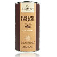 Callebaut - Ground Dark Chocolate, dunkle Trinkschokolade 50,1 % Kakao 1 kg