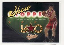 YAO MING HOUSTON ROCKETS 2004-2005 SHOW STOPPER AUTHENTIX #14 OF 15SS