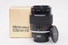 Nikon Nikkor AI 105mm f4 Micro Lens 105/4                                   #362