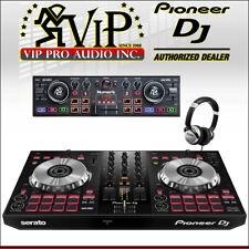 Pioneer DDJ-SB3 2-CH DJ Controller for Serato + Numark DJ2GO2 + HF125 Headphones
