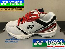 NEW MENS YONEX POWER CUSHION 28 SHB28EX BADMINTON SQUASH INDOOR SHOES RED