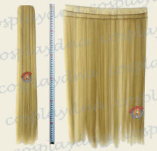 """24"""" Beige Blonde Heat Stylable Hair Weft Extention (3 pieces) Cosplay DNA 7086"""