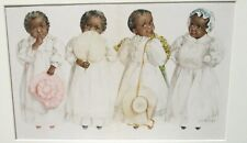 MAUD HUMPHREY AFRICAN AMERICAN GIRLS OLD LITHOGRAPH