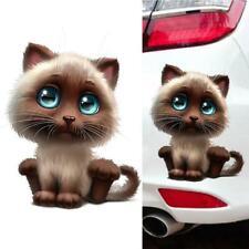 Reizende Katzenauge-Fenster-Auto-Aufkleber-Abziehbilder der Karikatur-3D·Ne Z3F2