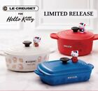 Hello Kitty Le Creuset Petite Collection Pot Food Container w/Figure SANRIO 2018