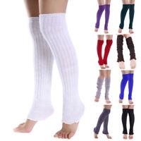 Ladies Winter Soft Knit Over knee Long Socks Thigh-High Warm Socks Leggings New