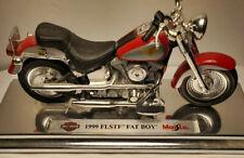 Maisto Harley Davidson 1999 FLSTF Fat Boy 1:18 Die Cast Avon