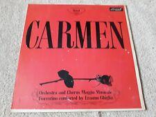 CARMEN VINYL LP - BIZET - 1964 - ERASMO GHIGLIA - MAGGIO MUSICALE
