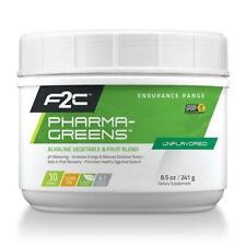 F2C Nutrition Pharma Greens Drink Mix  Strawberry Kiwi 30 Servings Bike