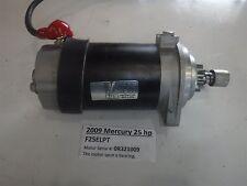 2009 Mercury Outboard 25 hp  Four Stroke Starter Starting Motor 3C8-76010-1