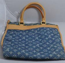 Louis Vuitton Blue Monogram Denim Flat Shopper (Sac Plat)