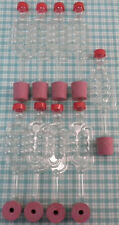 9 Airlocks & 9 Bored Rubber Demijohn Bungs Airlock & Bung For Safe Fermentation