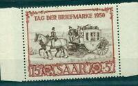 Saarland, Tag der Briefmarke 1951, Nr. 291 postfrisch **