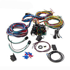 Universal 21 Circuit Wiring Harness For CHEVY MOPAR FORD JEEP HOTRODS