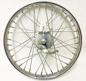 "Worksman Cycles 20"" Front Drum Brake Heavy Duty Chrome Wheel 7720A"