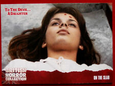 BRITISH HORROR COLLECTION - To The Devil... A Daughter - ON THE SLAB - Card #51