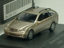 Busch Mercedes C-Klasse T-Modell, cubanit, dealer model - PC 1317 - 1:87