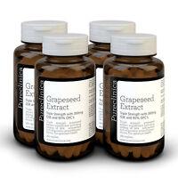 4 X extrait de pépins raisin - 300mg 720 comprimés - 90% Oligomeric procyanidine