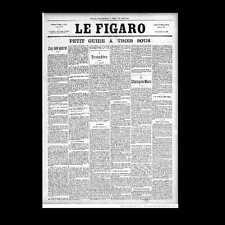 Dollshouse miniature journal-LE FIGARO -1889 paris exposition Edition