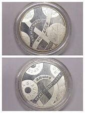 """Münze 5 Euro """"Niederland Japan"""" Niederlande 2009 versilbert"""