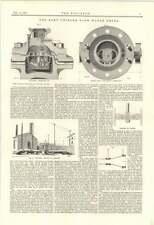 1895 The Kent Uniform Flow Water Meter Chelford Railway Accident Report