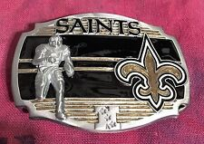 NEW ORLEAN SAINTS PLAYER BELT BUCKLE NFL BUCKLES NEW