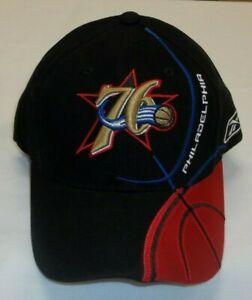 NBA Philadelphia 76ers Adjustable Reebok Hat - One Size - New