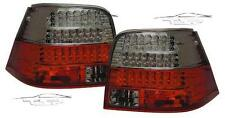 REAR LED TAIL LIGHT RED-SMOKE FOR VW GOLF 4 IV 97-03 LAMP FANALE POSTERIORE NEW