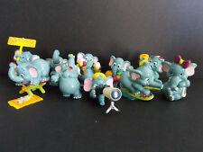 Lot série complète Kinder 10 Elephantos au club France 1999 + 1 BPZ