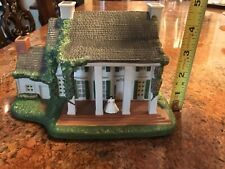 Collectible Hawthorne Gone With The Wind Tara Hand Painted Light Sculpture EUC