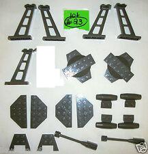 RARE LEGO 30303 4476 30359 3475 2419 4859 OLD DARK GREY 1x8 shaft antenna 4990