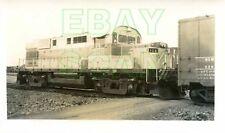 8C425 RP 1961 CARTIER RAILWAY CFC LOCOMOTIVE #108 PORT CARTIER PQ