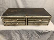 Vintage Industrial Metal Storage 4 Drawers