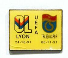 PINS FOOTBALL OL OLYMPIQUE LYONNAIS UEFA TRABZONSPOR TURQUIE 1991