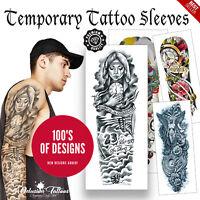 Realistic Temporary Tattoo Sleeve Full Arm Waterproof Tattoo Transfers Body Art