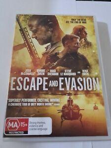 Escape and Evasion Dvd Josh McConville PAL Region 4 Bonnie Sveen Hugh Sheridan