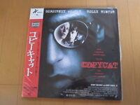 COPYCAT Sigourney Weaver JAPAN Laser Disc LD w/ OBI