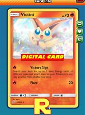 Victini ( Victory Sign) - for Pokemon TCG Online (ptcgo in Game Card)