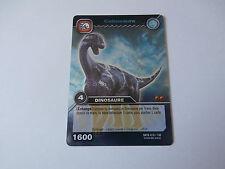 Carte Dinosaur King Cetiosaure Combat Titanesque !!!