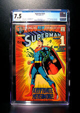 COMICS: DC: Superman #233 (1971), Iconic Neal Adams cover - CGC 7.5