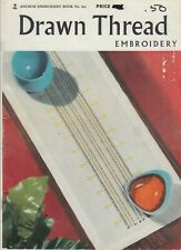 Anchor Drawn Thread Embroidery how-to instructions & patterns - 1964